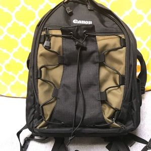 New Canon camera bag/travel backpack